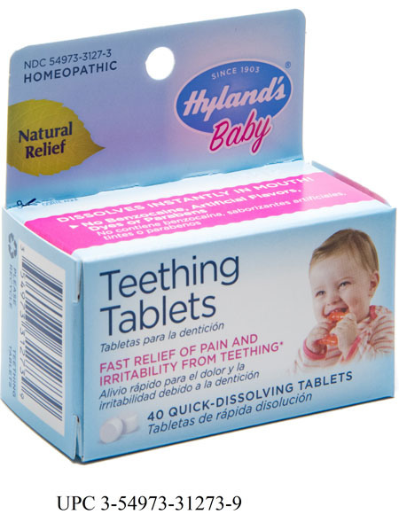 Hylands Teeth Tablets